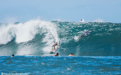 SUP Surfing Training Video Advanced Core Exercise Featuring Professional Maui SUP Athlete Lara Claydon