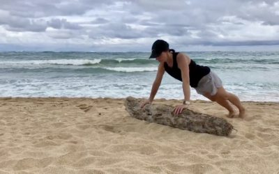 Outdoor Training Session on Maui with Suzie Cooney and Adventure IO