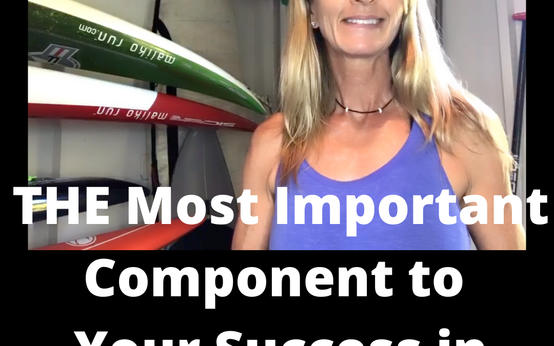 THE Most Important Component to Your Training Success