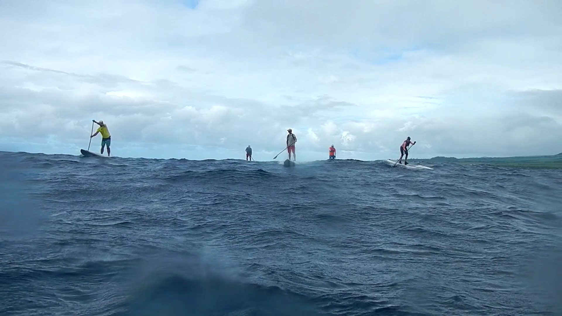 Advanced Downdwind Skills Course Maliko Crew